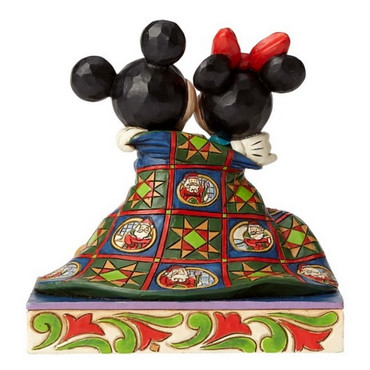 WARM WISHES Mickey&Minnie Skulptur Jim Shore – Bild 2