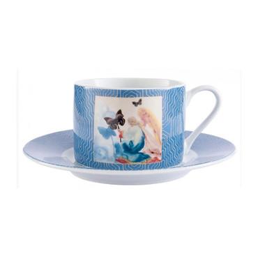 """Salvador Dali """"Kneeling Woman"""" Kaffee-Tasse"""