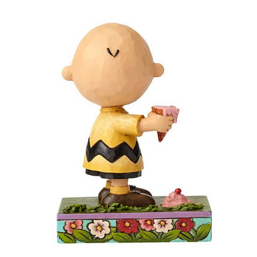 Charlie Brown With Ice Cream - THE PEANUTS Skulptur 4055657  – Bild 2