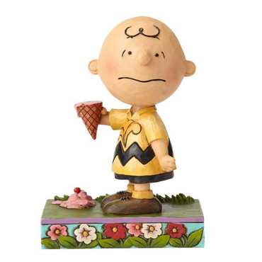 Charlie Brown With Ice Cream - THE PEANUTS Skulptur 4055657  – Bild 1