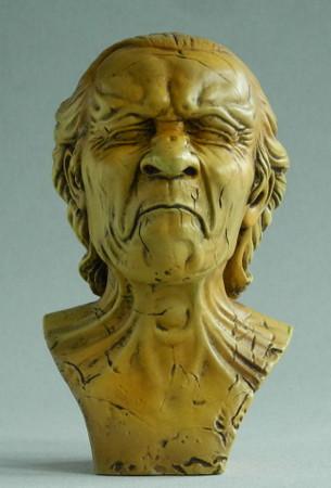 Messerschmidt - Pocket Art Skulptur - Der Verärgerte Mann – Bild 1