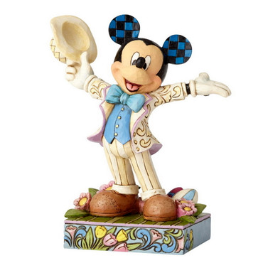 HATS OFF SPRING Mickey Special Figur Jim Shore – Bild 3