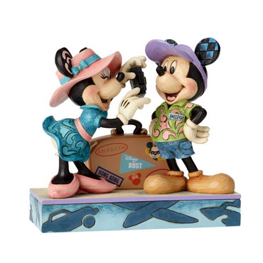 "DISNEY TRADITIONS ""Adventure Awaits"" Travel Mickey & Minnie – Bild 3"