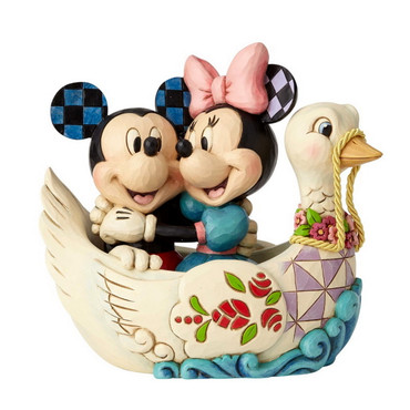 "DISNEY TRADITIONS ""Mickey & Minnie in Swan"" – Bild 4"