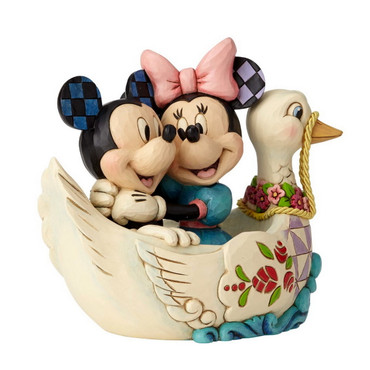 MICKEY & MINNIE IN SWAN Figur Jim Shore – Bild 2