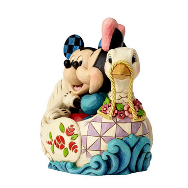 MICKEY & MINNIE IN SWAN Figur Jim Shore – Bild 3