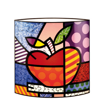 BIG APPLE Lampe Glas Romero Britto – Bild 1
