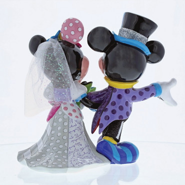 Mickey & Minnie Wedding ROMERO BRITTO Skulptur 4058179 – Bild 2