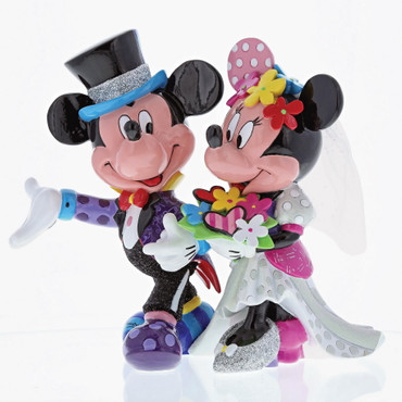 MICKEY & MINNIE WEDDING Skulptur Romero Britto – Bild 3