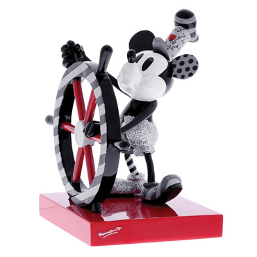 STEAMBOAT WILLIE Skulptur Romero Britto  – Bild 4