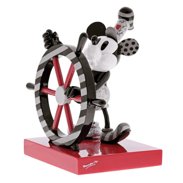 STEAMBOAT WILLIE Skulptur Romero Britto  – Bild 1