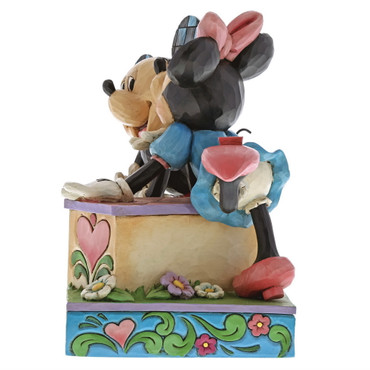 Disney Traditions Mickey & Minnie Mouse Kissing Booth – Bild 3