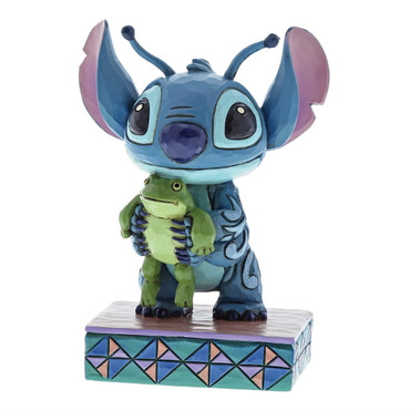 STITCH WITH FROG Figur Jim Shore – Bild 1