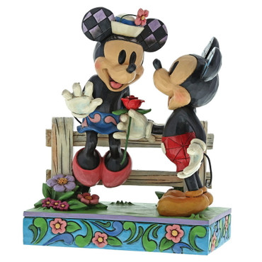 Disney Traditions Mickey & Minnie Mouse - Blühende Romantik – Bild 1