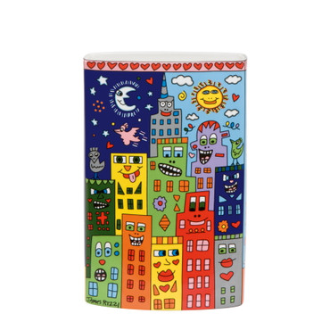JAMES RIZZI Vase - Love in the Heart of City