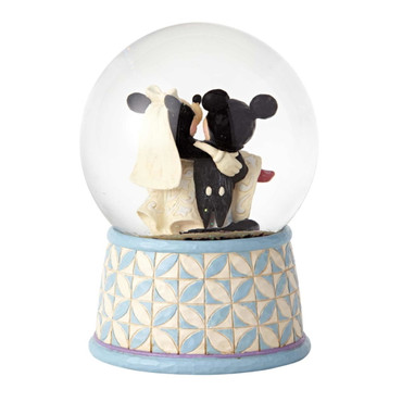 DISNEY TRADITIONS Mickey & Minnie - Happily Ever After - Schneekugel – Bild 3