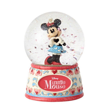 DISNEY TRADITIONS Minnie Mouse - Sweetheart Minnie - Schneekugel – Bild 1