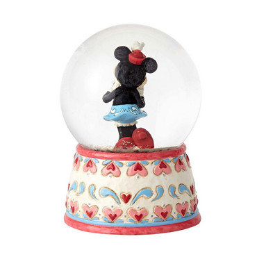 DISNEY TRADITIONS Minnie Mouse - Sweetheart Minnie - Schneekugel – Bild 3