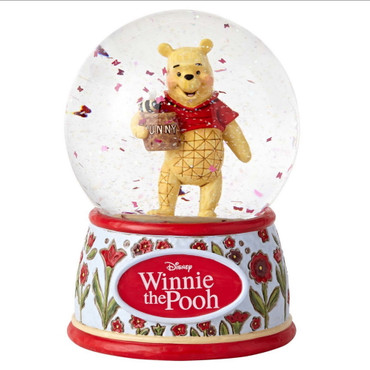 DISNEY TRADITIONS Winnie the Pooh Schneekugel – Bild 1