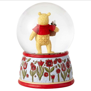 DISNEY TRADITIONS Winnie the Pooh Schneekugel – Bild 3