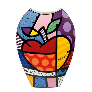 BIG APPLE Vase XXL Romero Britto – Bild 1
