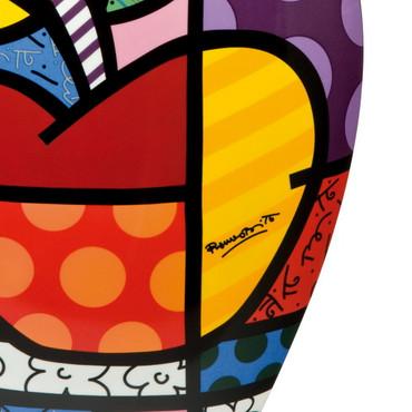 BIG APPLE - Vase XXL - Romero Britto  – Bild 2