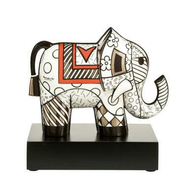 MAJESTY - Skulptur Elefant - Romero Britto