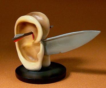 Ohren mit Messer M HIERONYMUS BOSCH Figur JB02 – Bild 1
