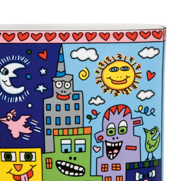 IT'S HEART NOT TO LOVE MY CITY Vase James Rizzi – Bild 3