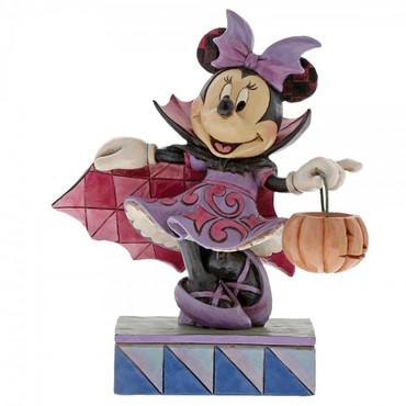 Violet Vampire Minnie Mouse JIM SHORE Figur 6000949 – Bild 1