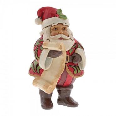 Mini Santa With List JIM SHORE Figur 6001495 – Bild 3