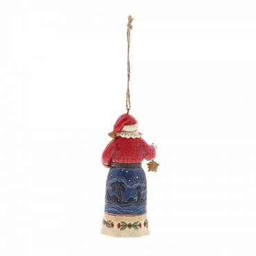 Joy To The World Santa JIM SHORE Hanging Ornament 6001504 – Bild 2