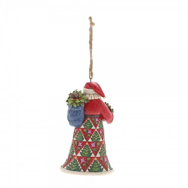 Pinecone Santa JIM SHORE Hanging Ornament 6001506 – Bild 2