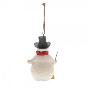 Winter Wonderland Snowman JIM SHORE Hanging Ornament 6001425 – Bild 2