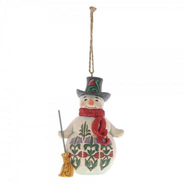Winter Wonderland Snowman JIM SHORE Hanging Ornament 6001425 – Bild 1