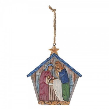 Folklore Holy Family JIM SHORE Hanging Ornament 6001456 – Bild 1