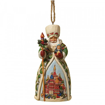 Russian Santa JIM SHORE Hanging Ornament 4022942