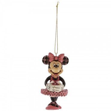 Minnie Mouse Nutcracker JIM SHORE Hanging Ornament A29382 – Bild 2