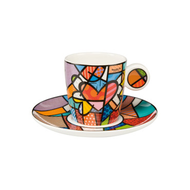 FLYING HEART Espressotasse Romero Britto