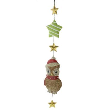 WEIHNACHTSEULE Hängedekoration Goebel Weihnacht – Bild 3