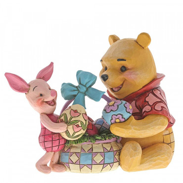 SPRING SURPRISE Pooh & Piglet Figur Jim Shore – Bild 1