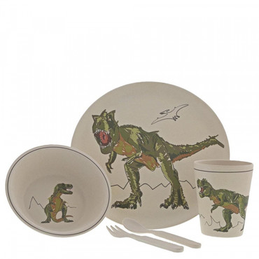 T-REX Organic Bamboo Lunch-Set ROAR-SOME