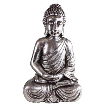 BUDDHA Outdoor Skulptur H 63cm DekoArt – Bild 1