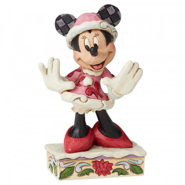 FESTIVE FASHIONISTA Minnie Mouse Figur Jim Shore – Bild 2