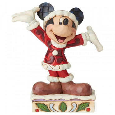 TIS A SPLENDID SEASON Mickey Mouse Figur Jim Shore – Bild 1