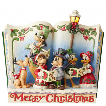 MERRY CHRISTMAS STORYBOOK - MICKEY & FRIENDS Jim Shore – Bild 1