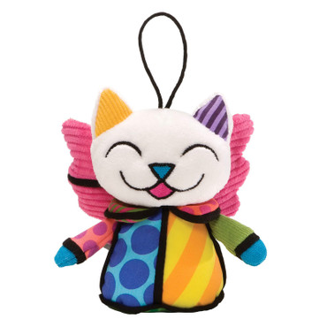 ANGEL CAT ORNAMENT Plush Romero Britto