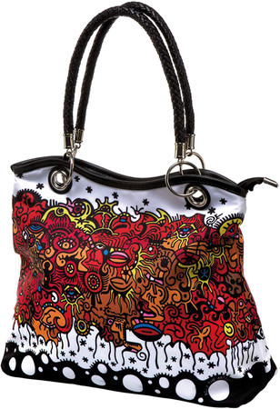 CELEBRATION SUNRISE Shopper James Rizzi