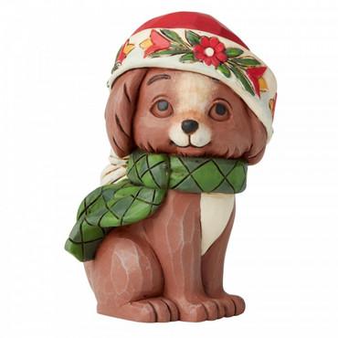 CHRISTMAS PUPPY MINI Figur Jim Shore  – Bild 1