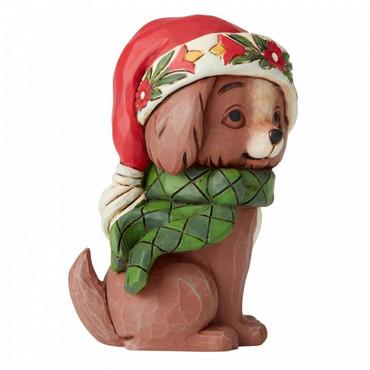 CHRISTMAS PUPPY MINI Figur Jim Shore  – Bild 2